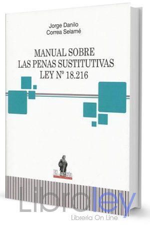 manual sobre las penas sustitutivas ley 18216
